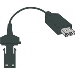 Cable USB Opto HP