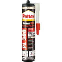 Pattex Colle montage PL300 Total Fix 300ml blanc (Par 12)
